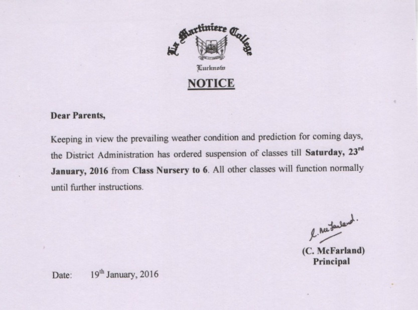 Notice 19