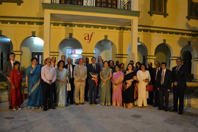 Visit of French Ambassador