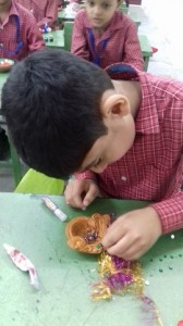Junior School Diya Making  27